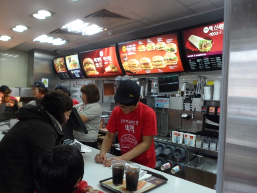 Image result for fast food COUNTER pictures